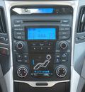 hyundai sonata hybrid 2012 blue sedan hybrid 4 cylinders front wheel drive autostick 77065