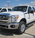 ford f 250 super duty 2012 white xlt biodiesel 8 cylinders 4 wheel drive automatic 77578