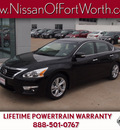 nissan altima 2013 black sedan 2 5 sl gasoline 4 cylinders front wheel drive automatic 76116