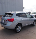 nissan rogue 2013 lt  blue sv gasoline 4 cylinders front wheel drive automatic 76116