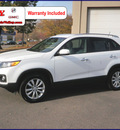 kia sorento 2011 white ex gasoline 4 cylinders 2 wheel drive automatic 55124