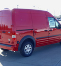 ford transit connect 2012 red van cargo van xlt gasoline 4 cylinders front wheel drive automatic 62708