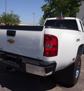 chevrolet silverado 3500hd 2013 white ltz diesel 8 cylinders 4 wheel drive automatic 75075