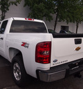 chevrolet silverado 1500 2013 white lt flex fuel 8 cylinders 4 wheel drive automatic 75075