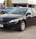 toyota camry 2011 black sedan le gasoline 4 cylinders front wheel drive automatic with overdrive 77074