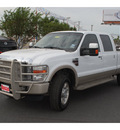 ford f 250 super duty 2010 white king ranch diesel 8 cylinders 4 wheel drive automatic 78501