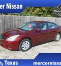 nissan altima 2012 dk  red sedan 2 5 s gasoline 4 cylinders front wheel drive automatic 75901