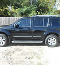 nissan pathfinder 2008 black suv le gasoline 6 cylinders rear wheel drive automatic 75901
