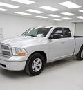 dodge ram 1500 2009 silver pickup truck slt gasoline 8 cylinders 2 wheel drive automatic 78028