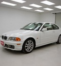 bmw 3 series 2003 white coupe 330ci gasoline 6 cylinders rear wheel drive automatic 78028