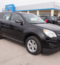 chevrolet equinox 2013 black ls gasoline 4 cylinders front wheel drive automatic 78009