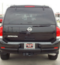 nissan armada 2011 black suv sv gasoline 8 cylinders 4 wheel drive automatic with overdrive 77469