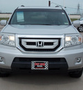honda pilot 2009 silver suv touring w navi w dvd gasoline 6 cylinders 4 wheel drive automatic with overdrive 77469