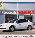 saturn ion 2006 white sedan 2 gasoline 4 cylinders front wheel drive 5 speed manual 79119