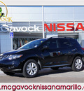 nissan murano 2011 black sv gasoline 6 cylinders front wheel drive automatic 79119