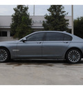 bmw 7 series 2009 dk  gray sedan 750li v8 automatic 77002