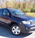 jeep compass 2013 dk  blue suv latitude gasoline 4 cylinders 4 wheel drive not specified 44024