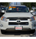toyota rav4 2010 white suv 4wd ltd v6 6 cylinders 5 speed automatic 77099
