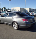 honda accord 2008 gray sedan ex l gasoline 4 cylinders front wheel drive automatic 99336