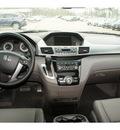 honda odyssey 2012 black van ex l w navi gasoline 6 cylinders front wheel drive automatic 77339