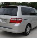 honda odyssey 2005 silver van ex l w dvd 6 cylinders automatic 77090