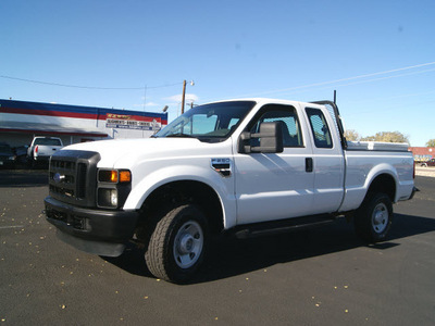 ford f 250 super duty 2008 oxford white xl 8 cylinders automatic 80911