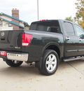 nissan titan 2008 dk  green le 8 cylinders automatic 80301
