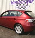 subaru impreza 2011 paprika red wagon 2 5i premium 4 cylinders automatic 80905