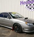 subaru impreza wrx sti 2006 steel gray sedan 4 cylinders 5 speed manual 80905