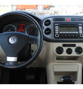 volkswagen tiguan 2009 blue suv gasoline 4 cylinders front wheel drive shiftable automatic 77539
