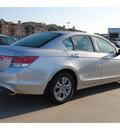honda accord 2012 silver sedan se 4 cylinders 5 speed automatic 77025