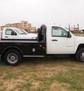 chevrolet silverado 3500hd cc 2012 white work truck 8 cylinders automatic 78064