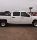 chevrolet silverado 1500 2010 white ls 8 cylinders automatic 78064