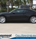 chevrolet camaro 2013 black coupe lt 6 cylinders automatic 77503