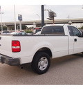 ford f 150 2006 white pickup truck xl gasoline 6 cylinders rear wheel drive automatic 77074