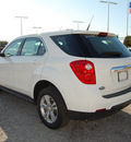 chevrolet equinox 2013 white ls gasoline 4 cylinders front wheel drive automatic 75067
