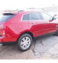 cadillac srx 2012 red luxury collection flex fuel 6 cylinders front wheel drive automatic 77074
