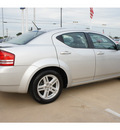 dodge avenger 2010 silver sedan r t gasoline 4 cylinders front wheel drive automatic 77034
