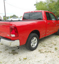 ram 1500 2012 red pickup truck slt 8 cylinders automatic 75606