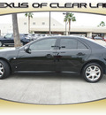 cadillac sts 2006 black sedan v6 gasoline 6 cylinders automatic 77546