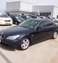 bmw 5 series 2004 blue sedan 530i gasoline 6 cylinders rear wheel drive automatic 76116