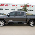 toyota tundra 2013 gray platinum gasoline 8 cylinders 2 wheel drive automatic 78232