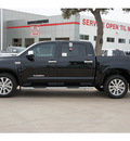 toyota tundra 2012 black limited gasoline 8 cylinders 2 wheel drive automatic 78232