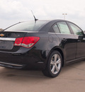 chevrolet cruze 2013 black sedan 2lt auto gasoline 4 cylinders front wheel drive 6 speed automatic 76206