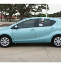 toyota prius c 2012 blue hatchback one hybrid 4 cylinders front wheel drive automatic 78232