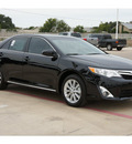 toyota camry 2012 black sedan xle gasoline 4 cylinders front wheel drive automatic 78232