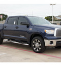 toyota tundra 2012 blue grade flex fuel 8 cylinders 4 wheel drive automatic 78232