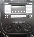 volkswagen jetta 2009 black sedan s gasoline 5 cylinders front wheel drive 5 speed manual 27616