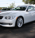 bmw 3 series 2011 white coupe 335i gasoline 6 cylinders rear wheel drive automatic 27616