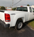 gmc sierra 1500 2010 white flex fuel 8 cylinders 4 wheel drive automatic 14224